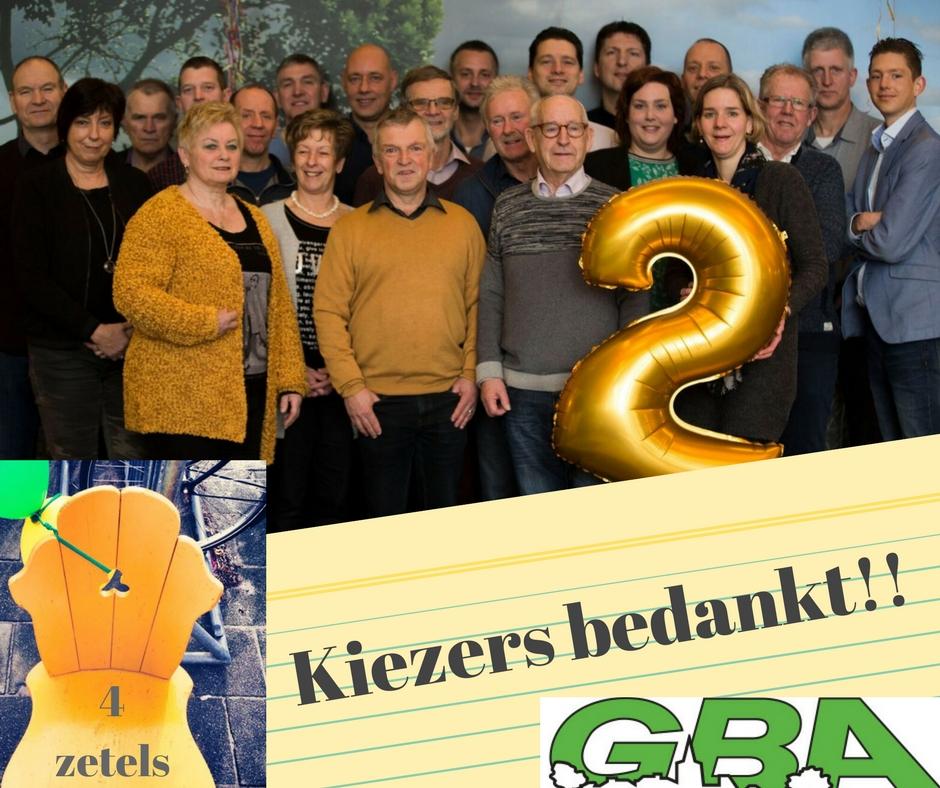 GBA, Samen met ambitie vooruit! G B A